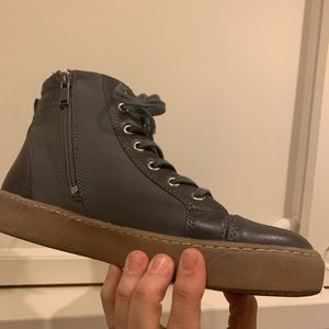 Shoes - Green high top